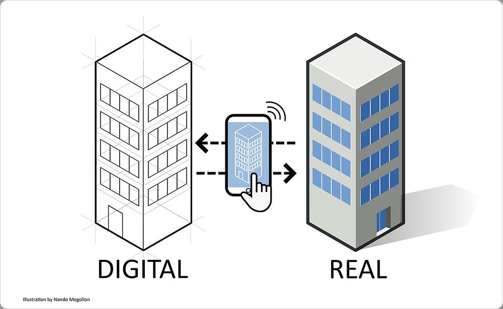 Cos'è il Digital Twin. Il ruolo del BIM.