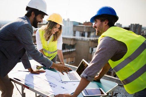 Project management through collaboration platform.